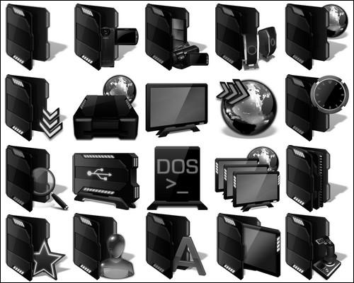Иконки Black-Icons