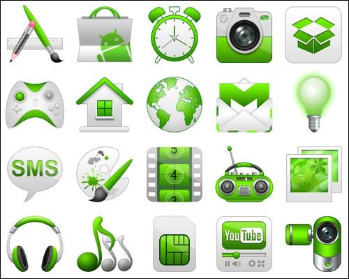Иконки Guacamole-Green icons