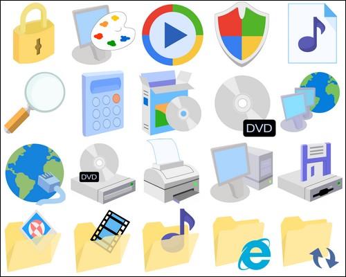 Иконки Modern XP