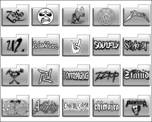 Иконки Rock Icons