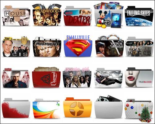 Иконки Series Folder Icons