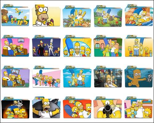 Иконки The Simpsons
