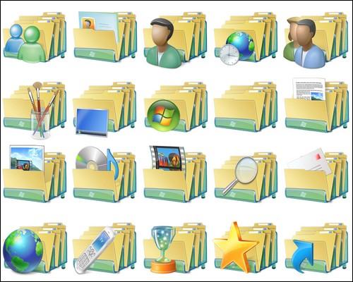 Иконки Windows 7 Icon Pack
