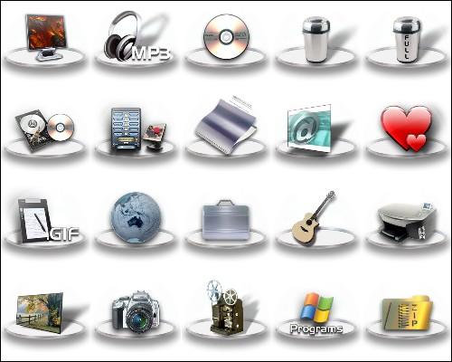 замена стандартным иконкам. Иконки ...: ikonki.ucoz.ru/load/download_icons_papki/6-2