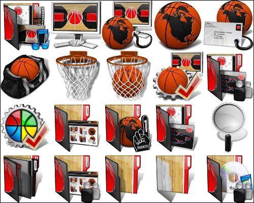 Иконки Баскетбол
